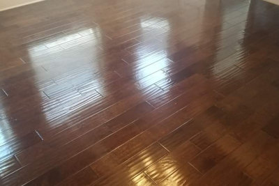 hardwood floor surface