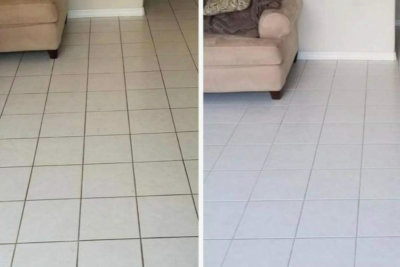 house tile floor